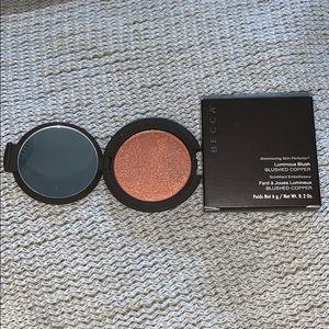 Becca luminous blush in blushed copper
